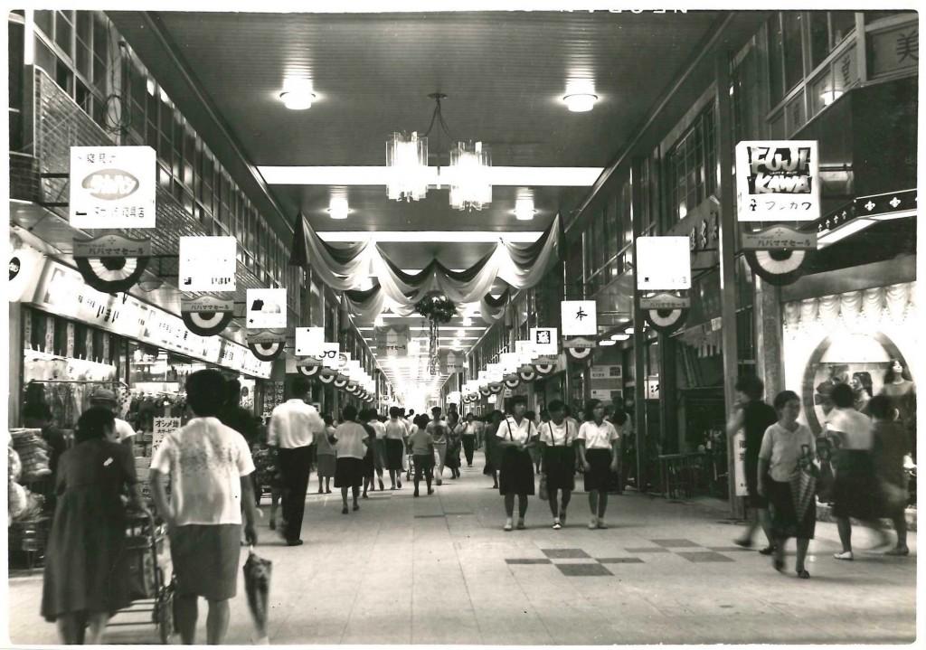 昭和41年9月からの銀天街